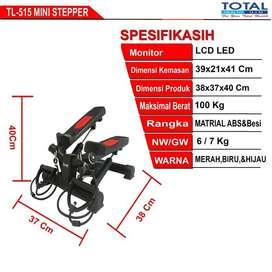 Alat Fitness Mini Stepper TL-515 / Steper Alat Olahraga Kak