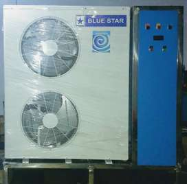 Brand new 5.5 ton online water chiller 115000/-