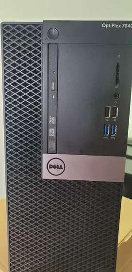 Ecellent Dell,Hp i5 desktops i5 4gb 500gb Cabinet smps Usb,lan ports