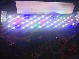 Lampu hpl aquascape aquarium 70 cm 51 watt