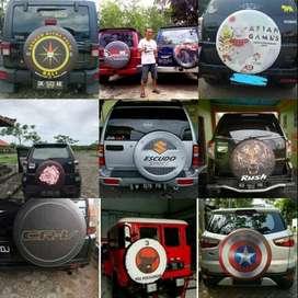 Cover/Sarung Ban Daihatsu Taruna/Rush/Terios/Jimny/Terrano Now oscar b