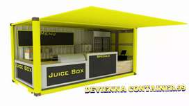 Booth jualan booth Container booth container custom..