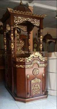 mimbar masjid kubah bagus murah
