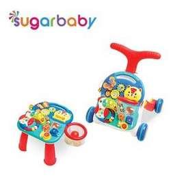 Sugar Baby Walker and Table 10 in 1 coco friends alat bantu jalan bayi