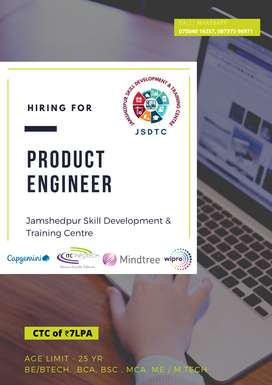 PRODUCT ENGINEER REQUIRED
