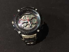 Fastrack digital and analog watch