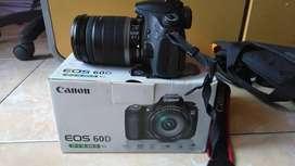 Canon 60D set 18 - 200 mm