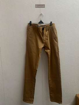 Celana chino tom tailor coklat