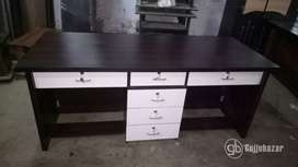 6x2.5ft office table 2 seater model 665