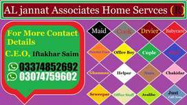 Domestic Services Available