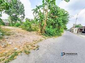 Tanah Dalam Ringroad LT=804m2 Kasihan, Bantul Cocok Kost Kos an