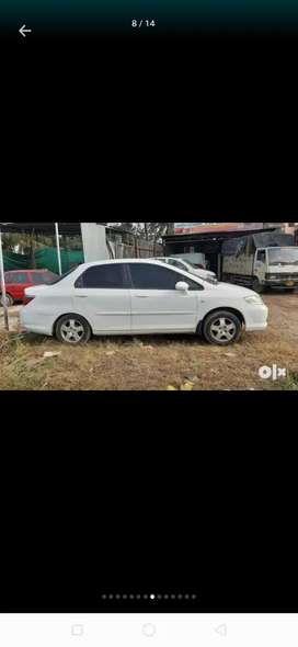 White honda city zx with cng in excellent condition