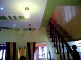 Independent duplex bungalow with Terracotta interiors at Anand, Guj.