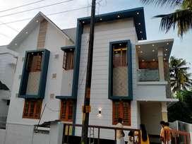 thrissur poochetty kozhukully 4 cent 3 bhk new interior villa