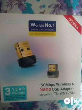 TP-TP-Link 150 Mbps Wireless N Nano USB Adapter