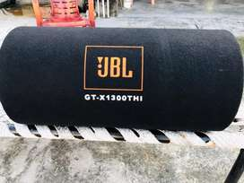 All new JBL GT-X1300THI basstube with Songbird  2 channel amplifier