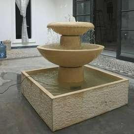 Air Mancur Taman Bahan Terazzo
