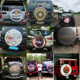 Jual Sarung Ban Serep Mobil Pajero-Ecosport PakaiDesainMu PilihanTepat