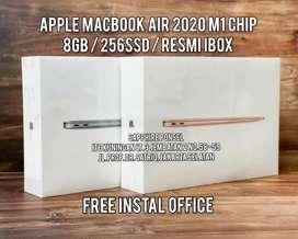 MacBook Air M1 Chip 256Gb(iBox Resmi) -Bisa COD/Kredit/Tt, Info bs WA