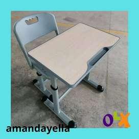 D5 harga meja kursi siswa sekolah baru modern murah