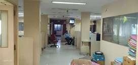 Nungambakkam semi furnished office space 2450sqft