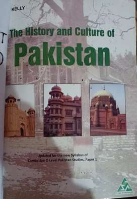 The Environment of Pakistan and The History and Culture of Pakistan.