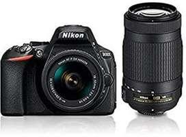 New brand camera nikon d 5600 with 70-300 lens