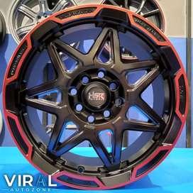 Velg Racing Ring 15 Lubang 4 HSR Traga Pelak Mobil Sigra Avanza Jazz
