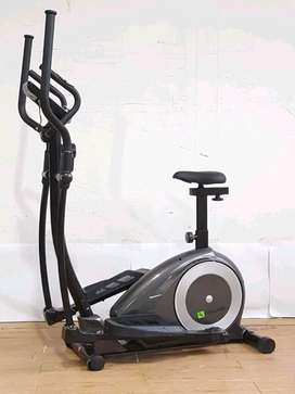 Sepeda Statis Elliptical Bike Life Sports // Rabu Gym 19.46