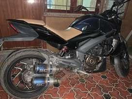 Dominar 400 customised