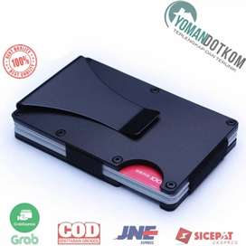 YMD Dompet Kartu Anti RFID dengan Klip Uang