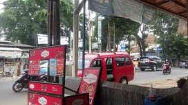 Disewakan depan toko luas 2*1m  bisa untuk bhot minuman DLL