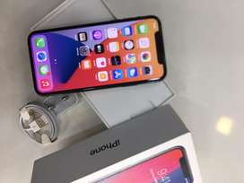 APPLE IPHONE X 64GB WITHOUT USED WITH WARRANTY ₹#€