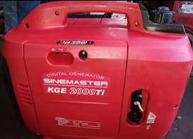 Kipor sinemaster generator 2kva in new brand