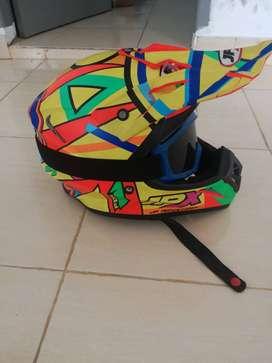 Helm JPX + Gogle