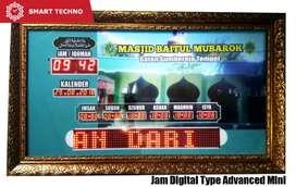 Jam Dinding Digital Masjid Jadwal Sholat Digital