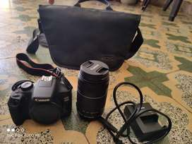 Canon eos 1500d with 55-250 mm lens