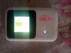 Zong 4g Bolt + charge device