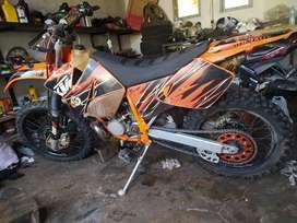 KTM  200cc 2tak
