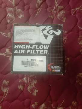 K & N Perfomance airfilter