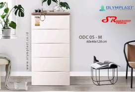 Lemari plastik Olymplast ODC 5 modern murah area jogja (est)