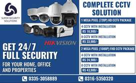 CCTV Security Camera for Home and Offices - HIKVISION