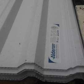Kanopi baja ringan atap alderon twinwall (dobelayer)