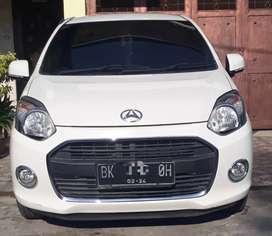 Daihatsu Ayla Type X Tahun 2014 Plat Medan