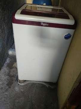 Whirlpool washing machine fully auto matic 6.2 kg