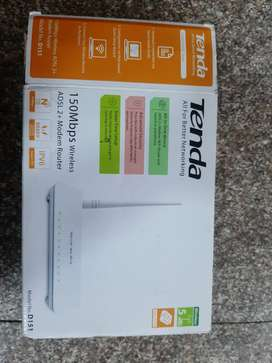 Wifi router Tenda  bay one and 2 free