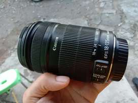 Canon 18-135 is sapujagad siip