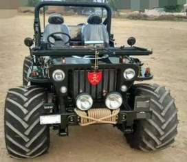 Modified willy stylish jeep
