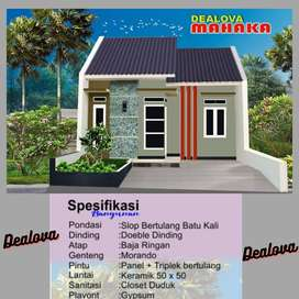 Rumah 1 Lantai Dealova Mahaka KPR DP 0%