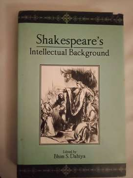 Shakespear's Intellectual Background